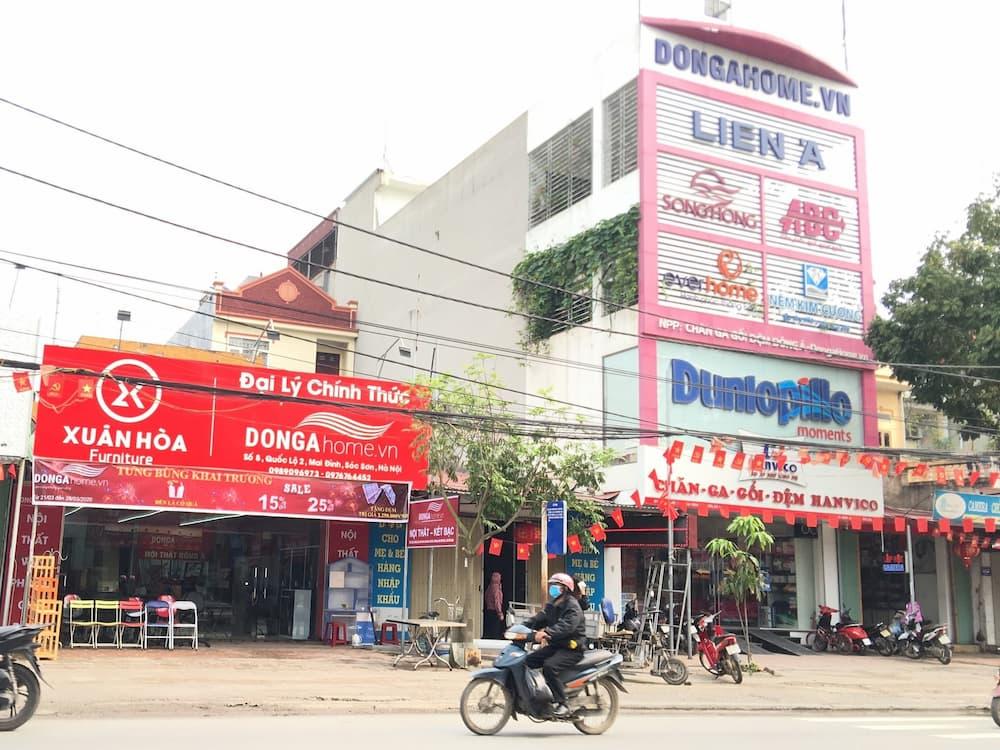Showroom nội thất Đông Á