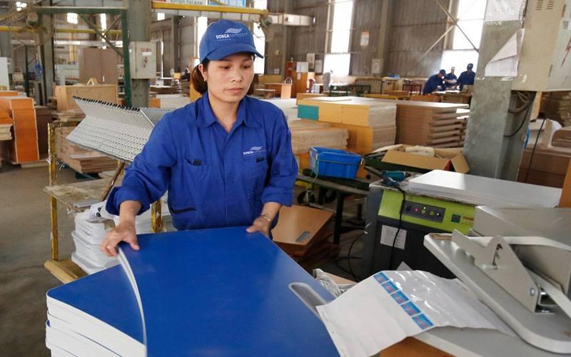 Không gian sản xuất nội thất Đông Á