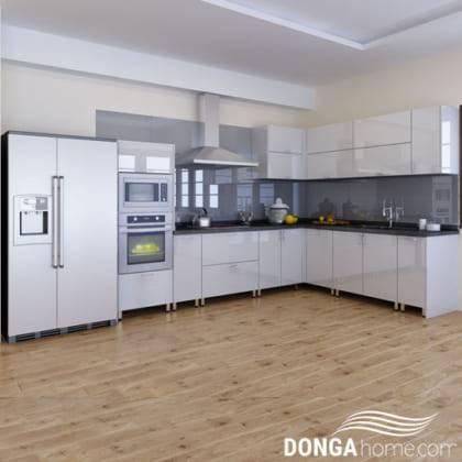 Tủ bếp Acrylic Dông A 15